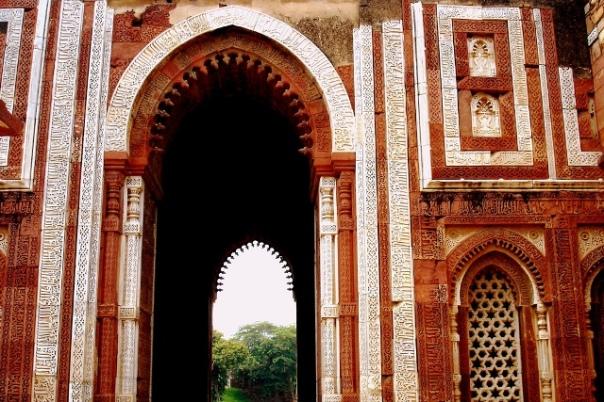 Alai Darwasa, parte do complexo de Qutb Minar